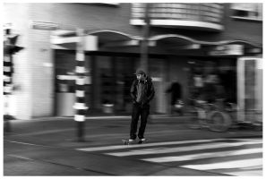 Skate in the city by ciscotjuh