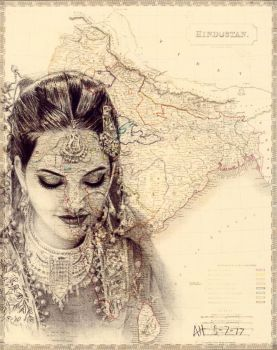 Brides From Around the World: India by LilacLunatic