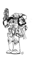 First Founding: Imperial Fists --Legiones VII-- by Belazikkal