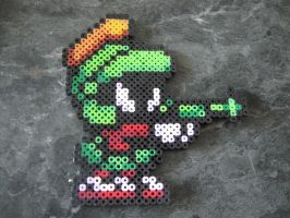 perler Marvin the Martian Looney Tunes by rushtalion