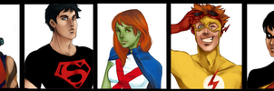 Young Justice by Christine-portfolio