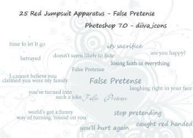 25 False Pretense brushes by twistedswanton