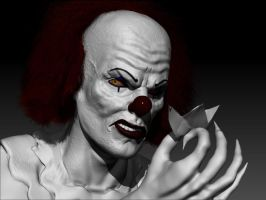 Pennywise w.i.p. by tlmolly86