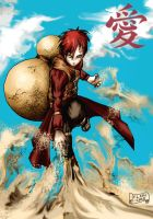 Gaara King of Sand by FLMN