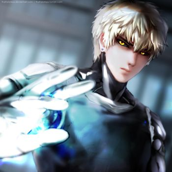 15 11 07 - Genos - One Punch Man by ThaharaTeja