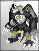 BlackWarGreymon by NR3