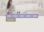 free layout ft. Lea Michele by mmmystery