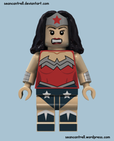 Lego Wonder Woman - New 52 by seancantrell