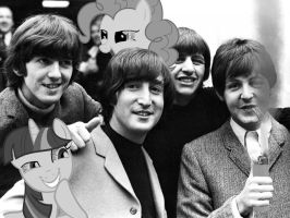 Ponies dope it up with the Beatles by DethLunchies