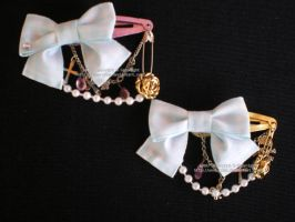 Baby Blue Ribbon Set by Corselia