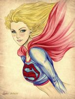 Super Girl V.2 by carldraw