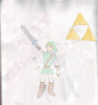 Adult Link: Ocarina of Time by Inzim-1