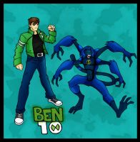 Ben  10 Spidermonkey by chaosdestine