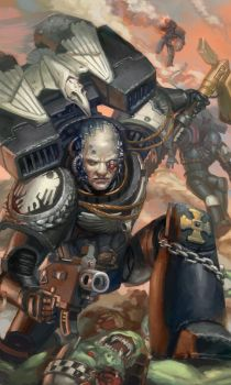 WH40K: Shadow Captain by jeffszhang