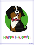 Holiday Card 2016 by Rei-Kyou