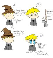 Sorting Hat :Fitched: by seara by Hogwarts-Castle