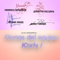 Firmas Equipo ICarly PNG by Justcallmebymyname by Justcallmebymyname