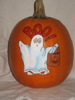 Boo child by pumpkinmaster