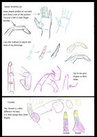 Hand Tutorial part 2 of 4 by Kanda-kun