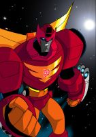 Rodimus Animated 2 by TheBoo