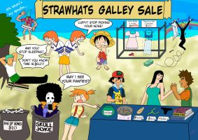 One Piece Garage Sale by MoriMe