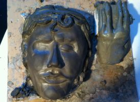 Weeping Angel mask part one by dARk-knighT4