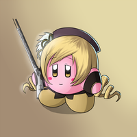 Mami Tomoe Kirby by JackJasra