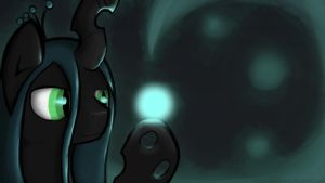 Chrysalis with firefly by MAKC-HUNTER