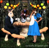 Wk 58 - Tea Party by mackrafty