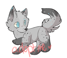 Closed Canine Adopt! by myungjunned