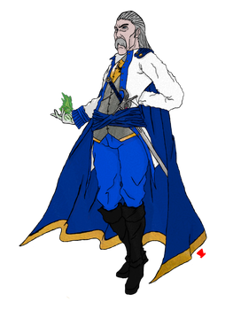 DnD - Lord Cole Clusterrain, The Lector by MadHatter-Himself