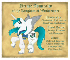 Prince Admiralty Official Design by MissSeaShanty