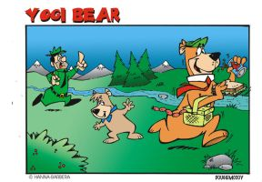 YOGI BEAR by dougie-mccoy