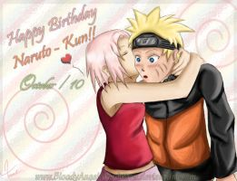 Happy Birthday Naruto-Kun by BloodyAngel-4m-heavn