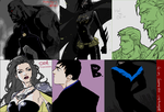 DC DOODLES 2008-9 by 89g