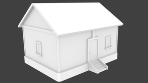 [WIP] 3D House by xelawebdev
