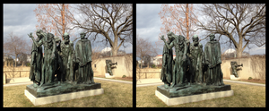 Rodin's Burghers of Calais by generalist