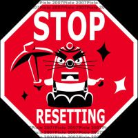 Game Signs - Stop Resetting by pixlem
