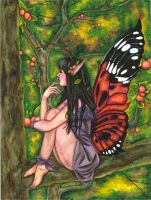 Forest Fairy by petiteophelia