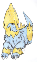 Vaquero the Manectric by Shendificator