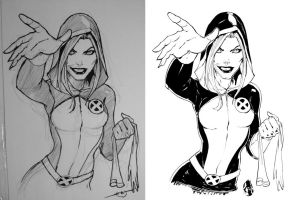 rogue from rough to inks by CRISTIAN-SANTOS