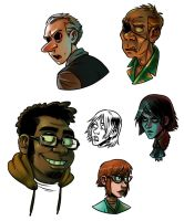 Some small portraits by evilengine9
