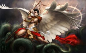 Warrior Angel by athanasius-M