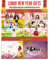 [PSD] HAPPY LUNAR NEW YEAR GIFTS by JanePham