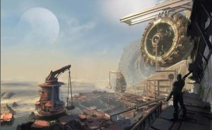 Bulletstorm concept art by Matchack