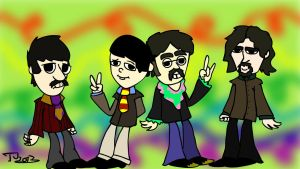 The Beatles by combine345