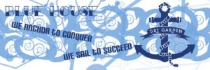 Blue House Banner by denniscmhmy