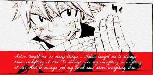 What Natsu taught me.. by Feizu-chan