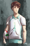 Oikawa Secret Santa by Toramelle