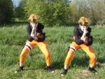 Kage Bunshin no Jutsu! by cosplay-violin